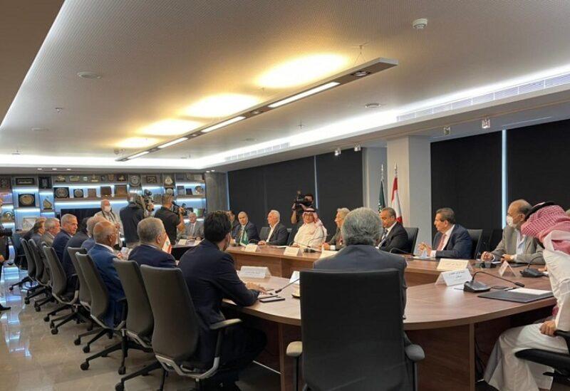 Une réunion entre les institutions économiques et l'ambassadeur saoudien