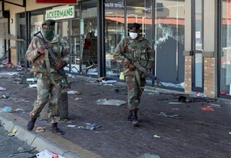 Forces de sécurité en Afrique du Sud