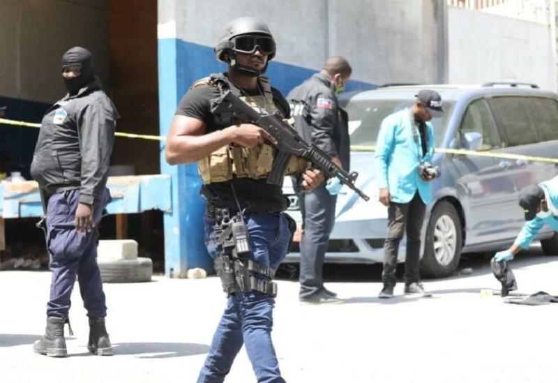 Forces de sécurité en Haïti
