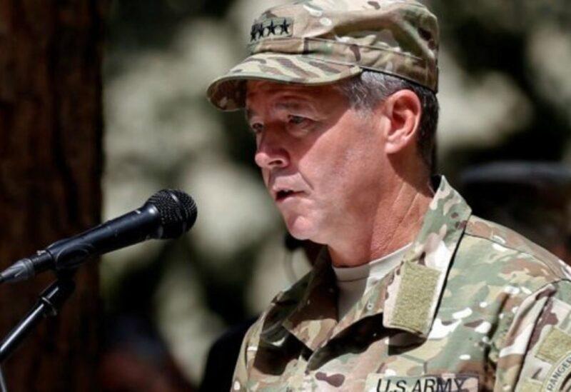 Général américain Austin Scott Miller - Archives