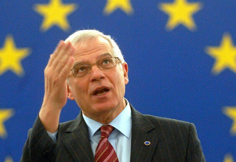 Josep Borrell, commissaire européen chargé de la politique étrangère