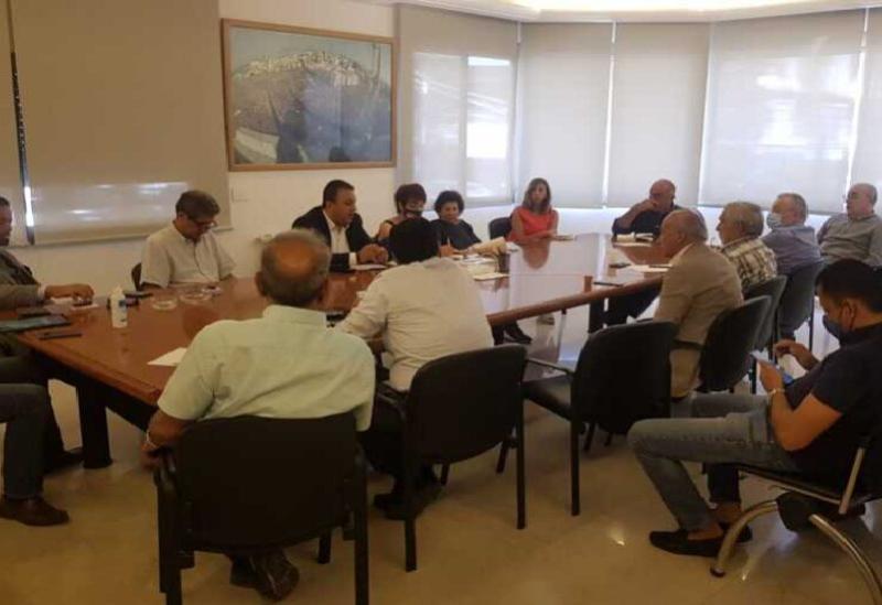 La réunion de Saydet Al Jabal