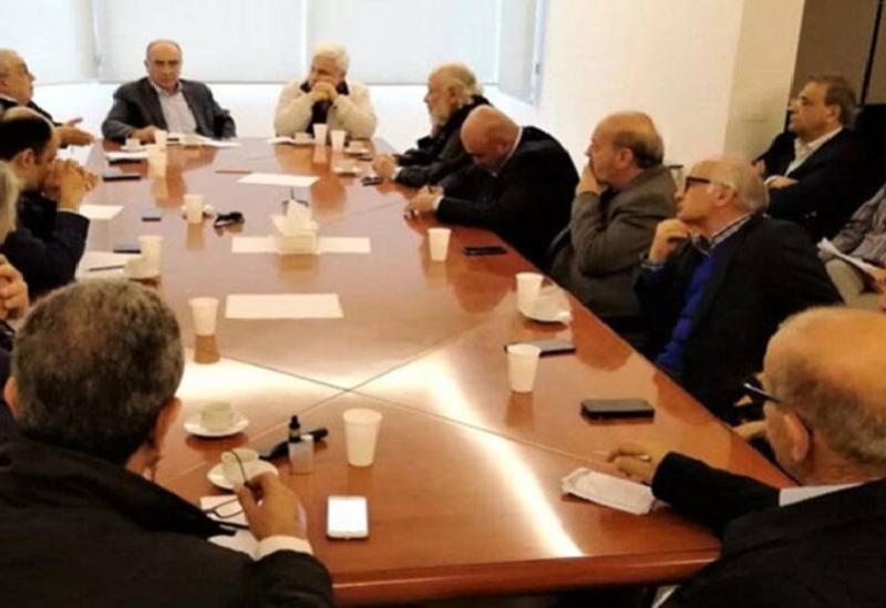 La réunion de Saydet Al Jabal - Archives