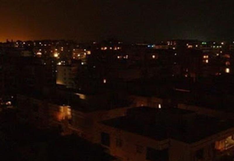 Le Liban dans le noir