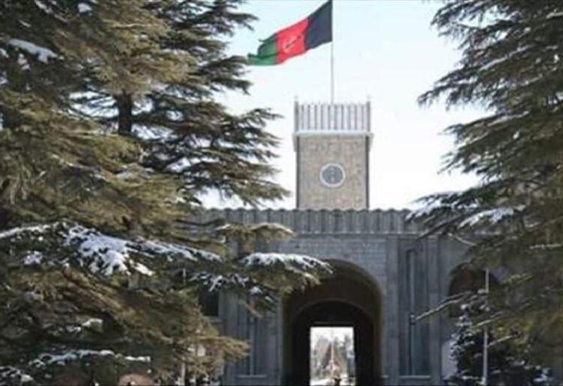 Le Palais présidentiel à Kaboul