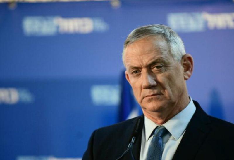 Le ministre israélien de la Défense Benny Gantz