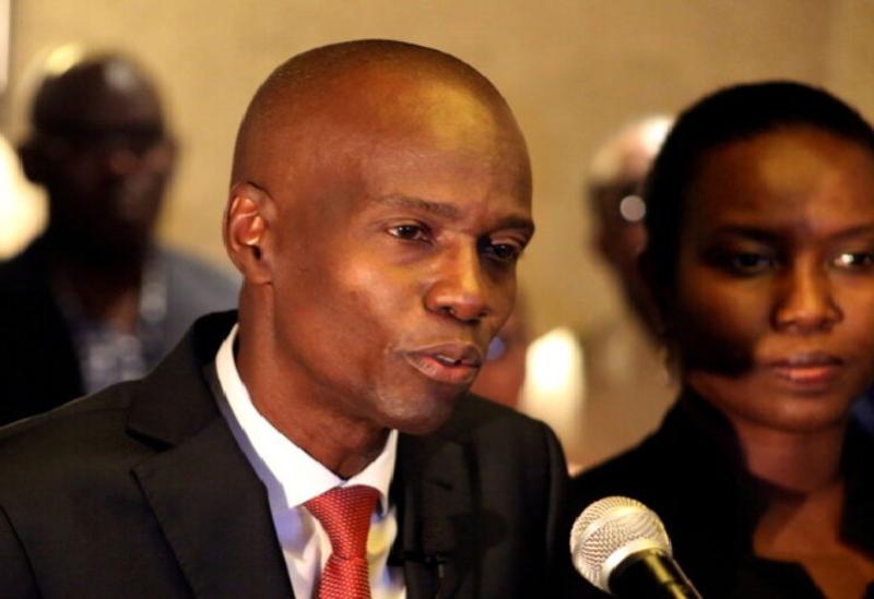 Le président haïtien Jovenel Moise