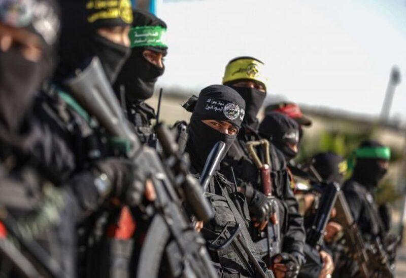 Les militants des factions palestiniennes - Archives