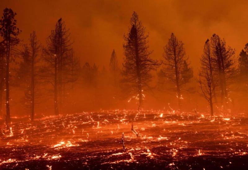 L'incendie de l'Oregon
