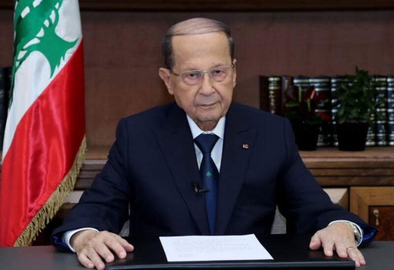 Le président de la République Michel Aoun