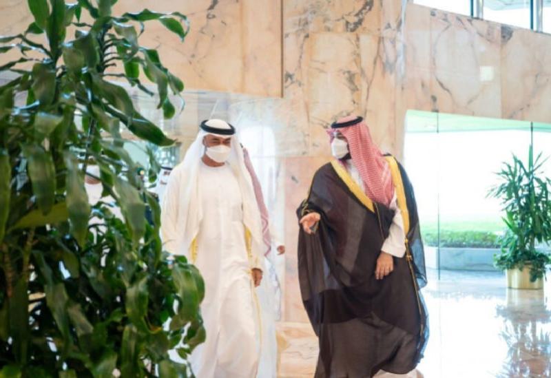 Mohammed ben Salmane et Mohammed ben Zayed