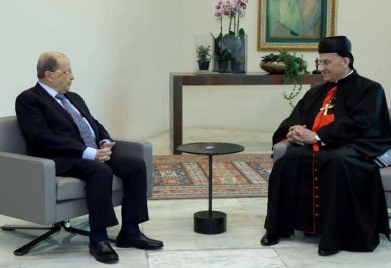 Patriarche Rahi et Michel Aoun