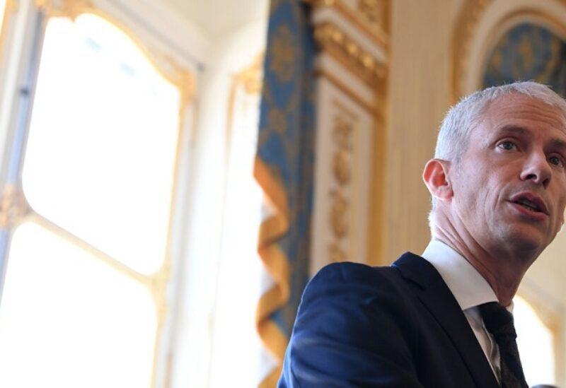 Le Ministre français chargé du Commerce extérieur et de de l'Attractivité Franck Riester