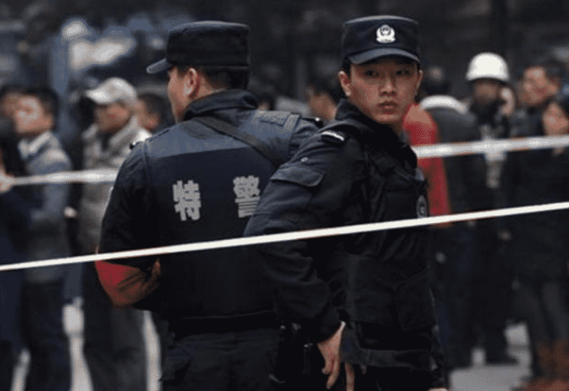 Police chinoise - Archives
