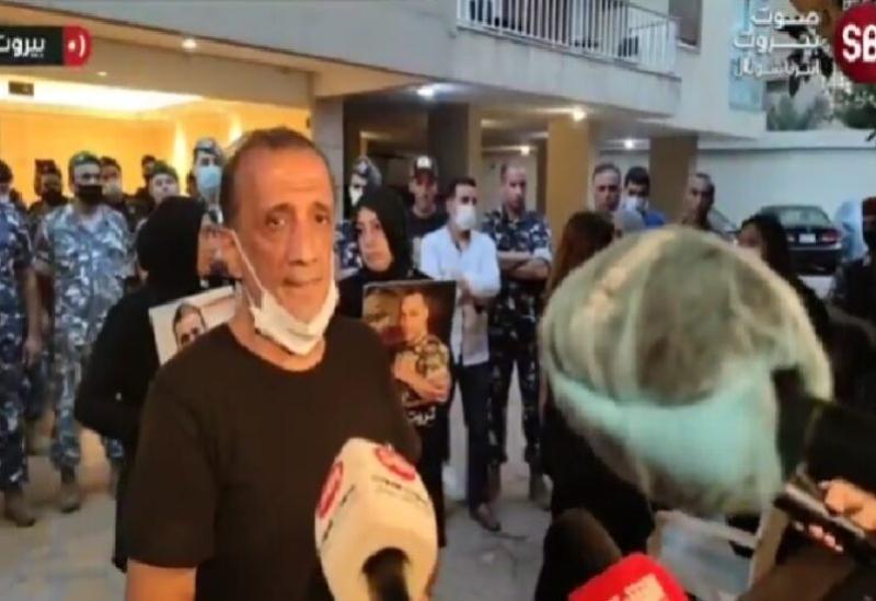 Porte-parole des familles des victimes du port, Ibrahim Hoteit