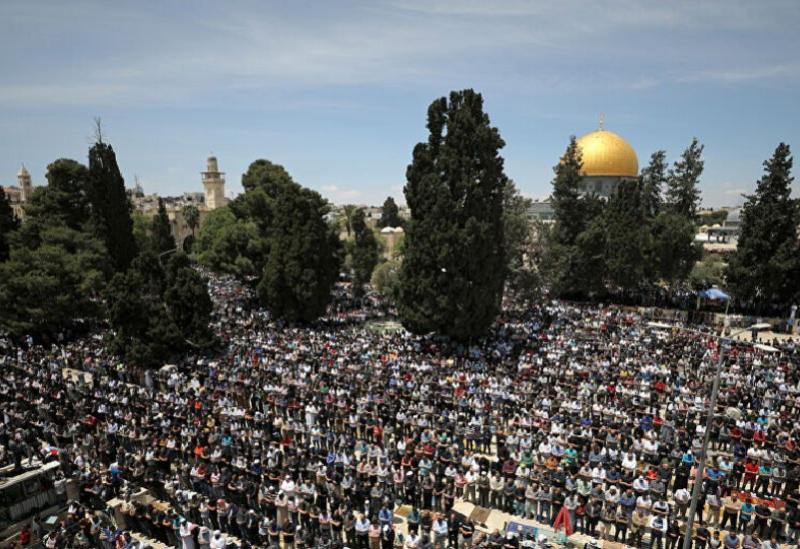 Prier à la mosquée Al-Aqsa