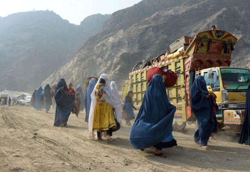 Réfugiés afghans