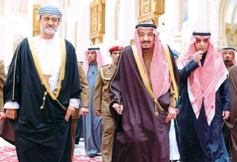Roi d'Arabie Saoudite et Sultan d'Oman