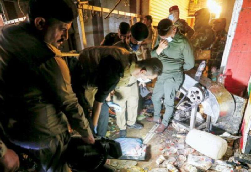 Un Attentat suicide sur un marché populaire de Sadr City