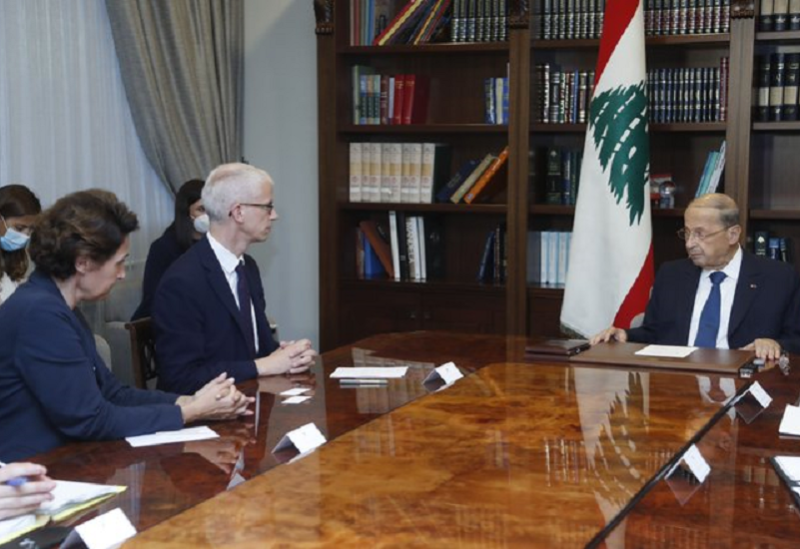 Aoun et Riester