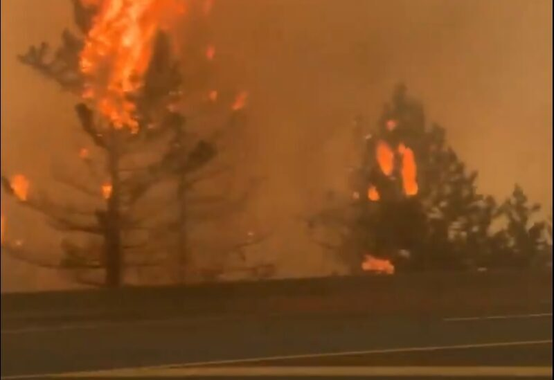 Incendies dans la ville canadienne de Lytton
