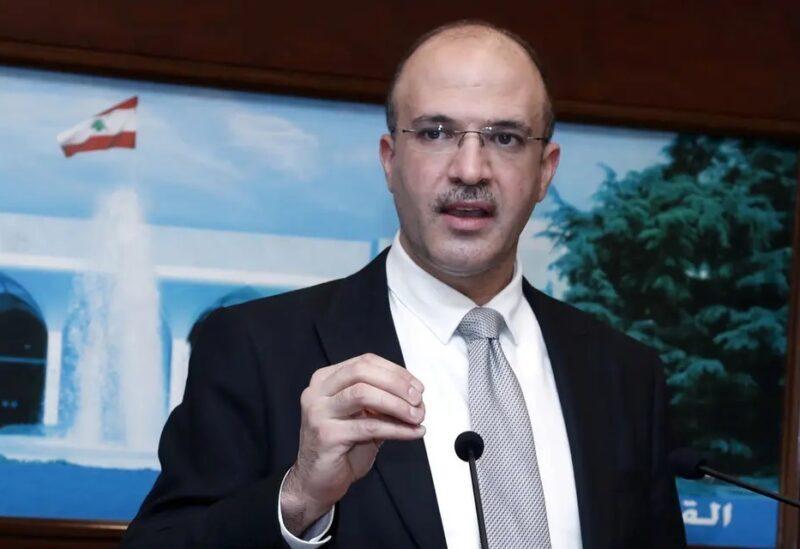 Le ministre intérimaire de la Santé Hamad Hassan