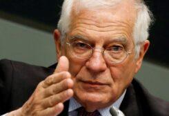 Le haut représentant de l'Union européenne pour la politique étrangère Josep Borrell