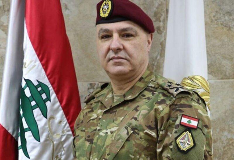 Commandant de l'armée Joseph Aoun