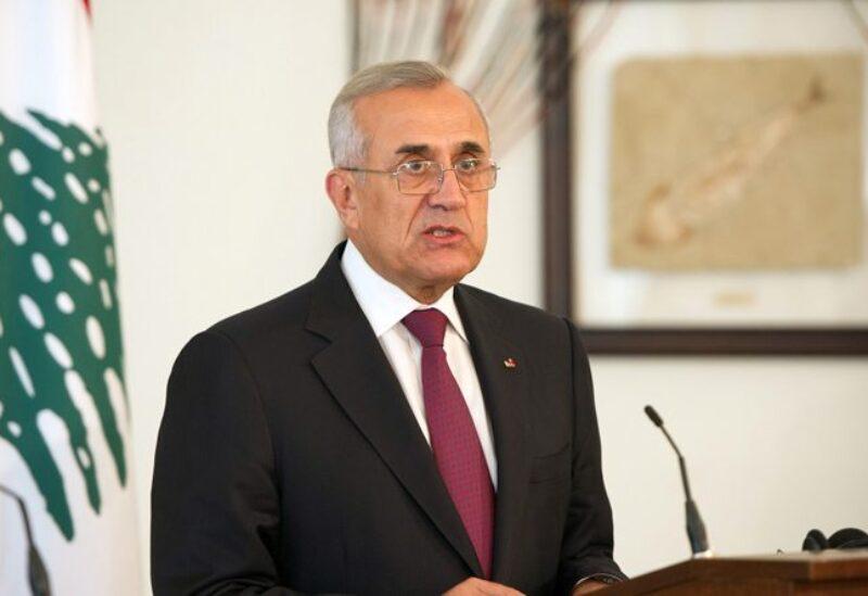 L'ancien président de la République le général Michel Suleiman