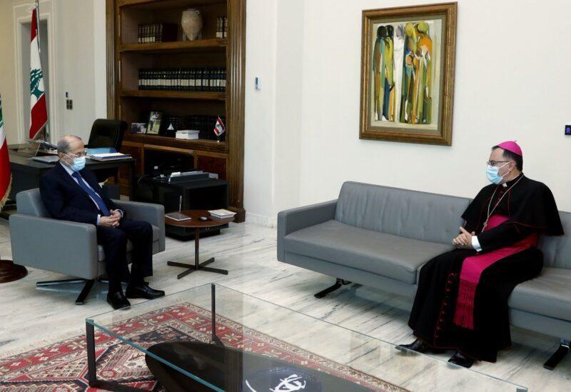 Ambassadeur du pape au Liban Monseigneur Joseph Spitri