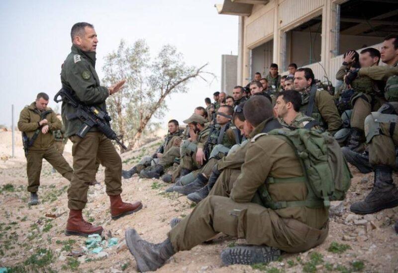 Le chef d'état-major général le général Aviv Kohavi