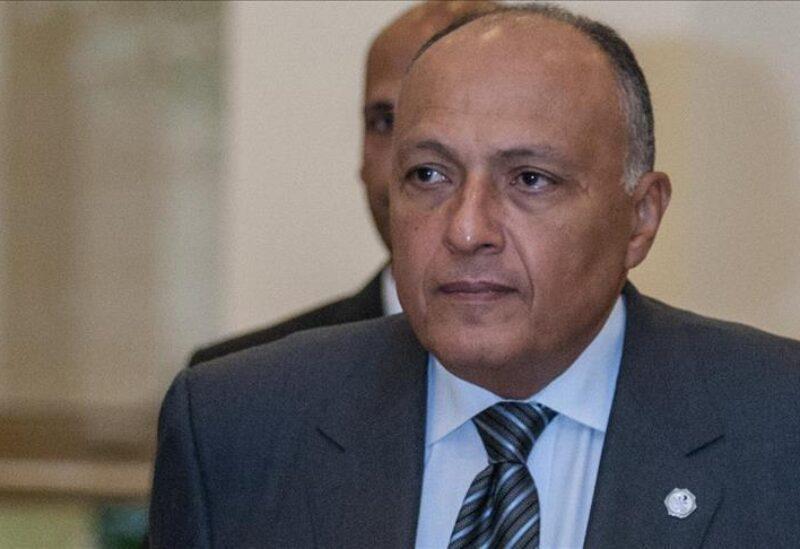 Le ministre égyptien des Affaires étrangères Sameh Shoukry