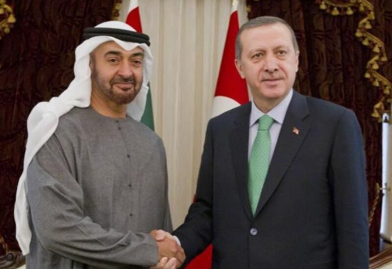 Erdogan et Mohamed bin Zayed