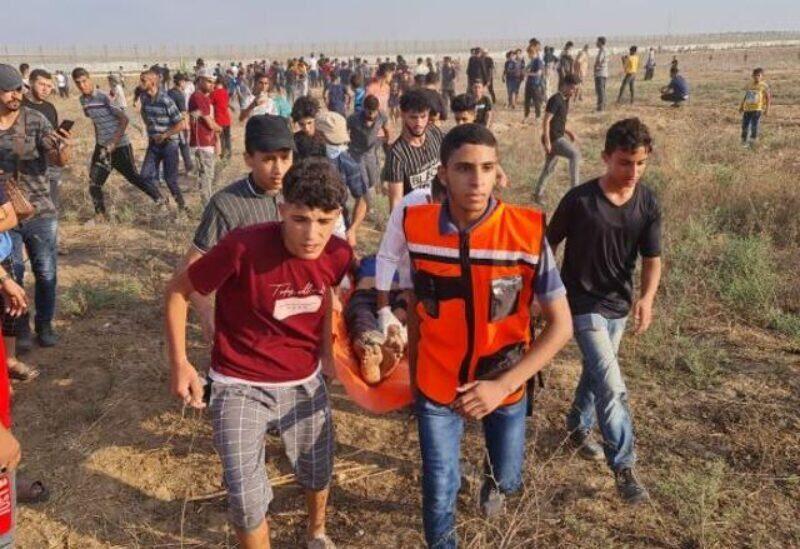 Des blessés par des balles israéliennes à l'est de Gaza