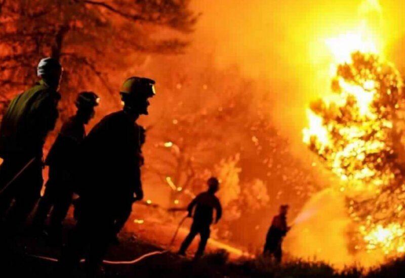 L'Algérie est confrontée à des incendies de forêt dans plusieurs États