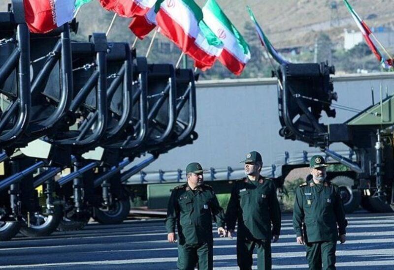 Les gardiens de la révolution iraniens