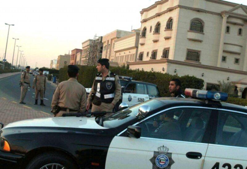 La police au Koweït