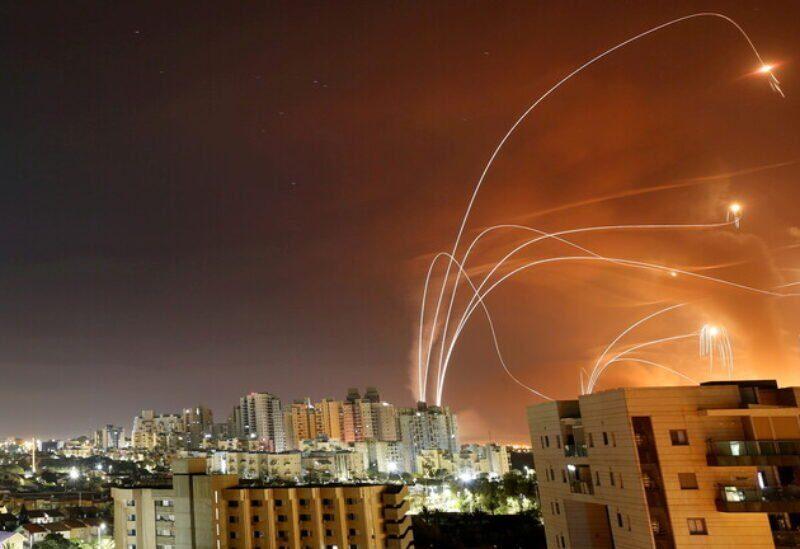 Le Dôme de fer tente d'intercepter les roquettes tirées depuis Gaza