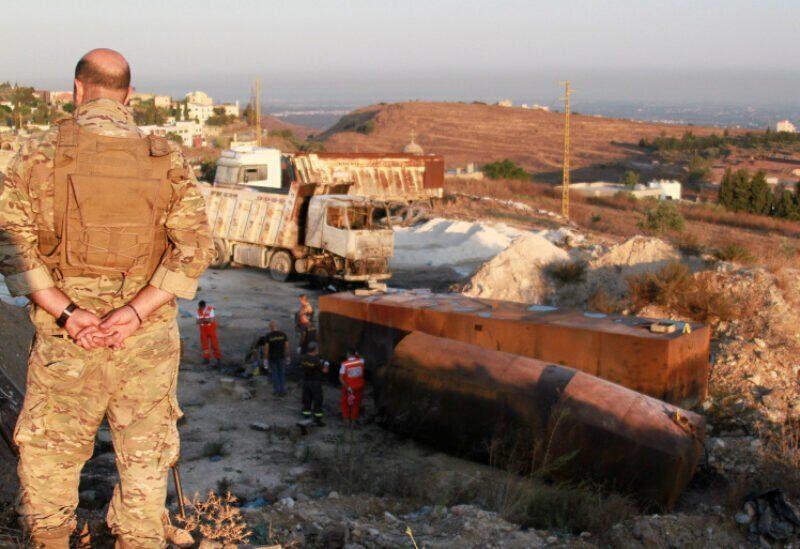 Explosion du camion-citerne à Tleil au Akkar