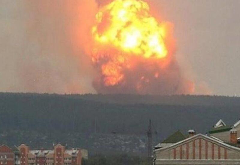 Explosion au kazakhstan