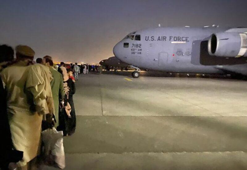 Évacuations de l'aéroport de Kaboul