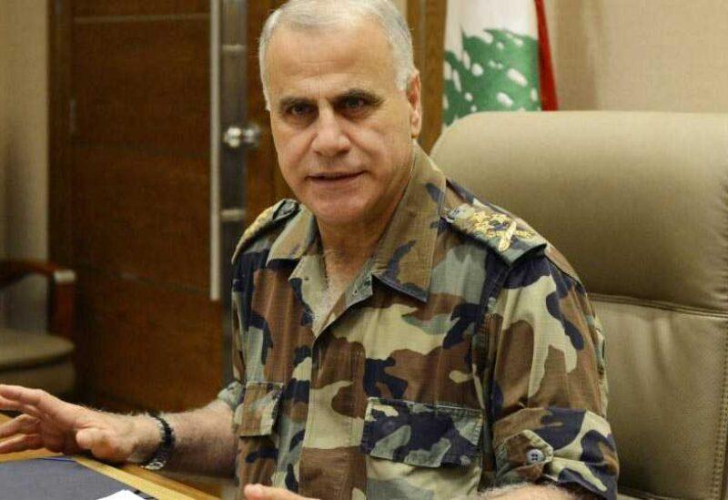 l'ancien commandant en chef de l'armée le général Jean Kahwagi