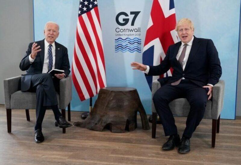 Joe Biden et Boris Johnson