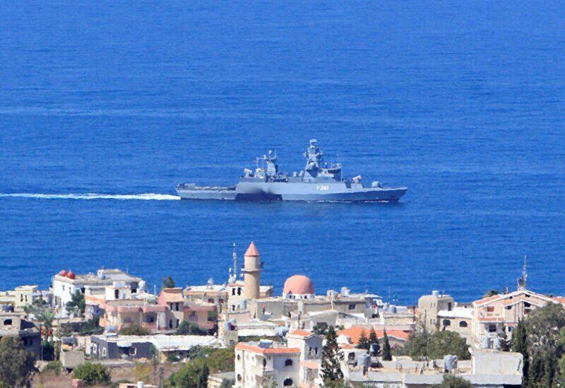 Les frontières maritimes du Liban