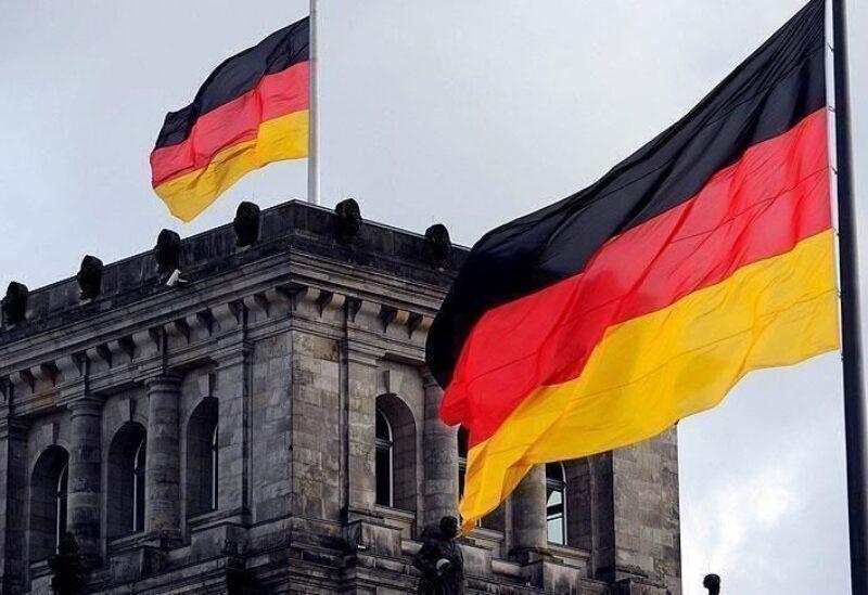 Le drapeau d'Allemagne