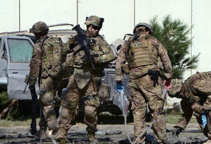 Des membres de l'armée américaine