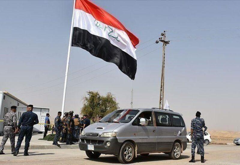 Des membres de la police irakienne
