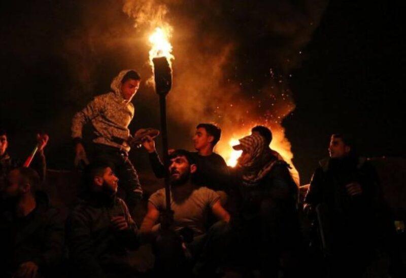 Le retour des activités de confusion nocturne à la frontière de Gaza