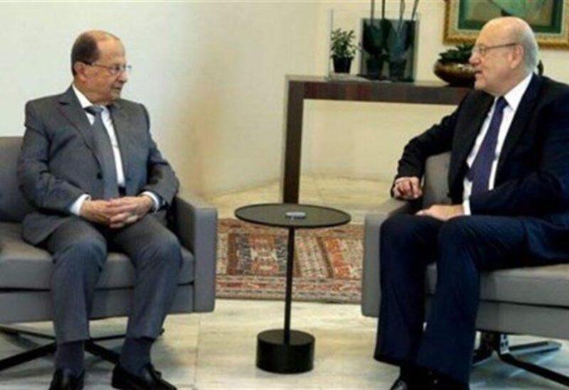 Aoun et Mikati