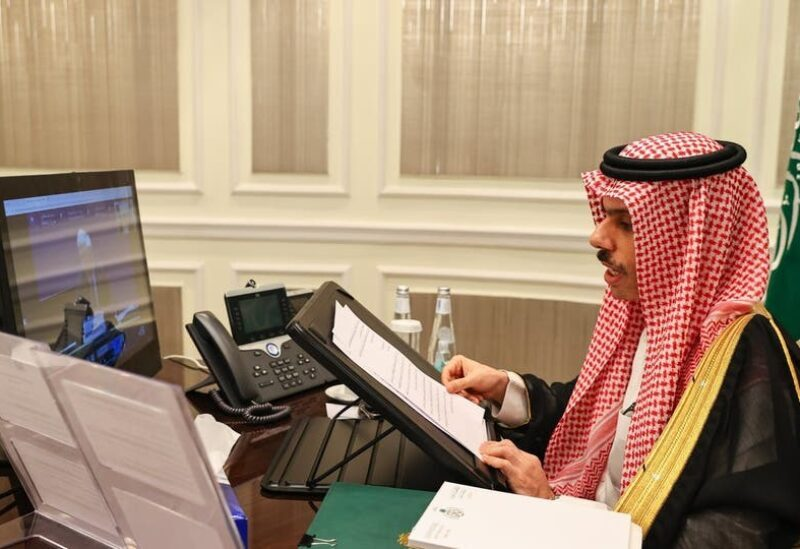 Le ministre saoudien des affaires étrangères Faisal bin Farhan